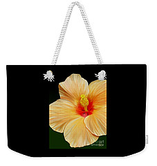 Yellow Hibiscus Weekender Tote Bag by Rand Herron