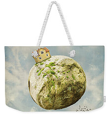 Yellow House In The Sky Weekender Tote Bag