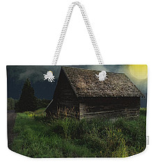 Yellow Moon On The Rise Weekender Tote Bag