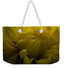 Yellow Mum Weekender Tote Bag