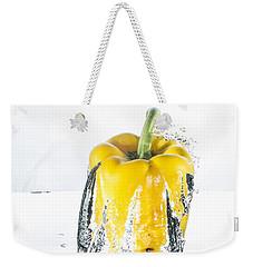 Yellow Pepper Rocket Weekender Tote Bag