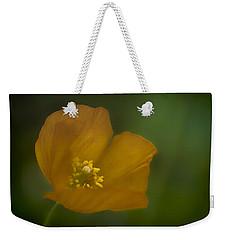 Yellow Poppy Weekender Tote Bag