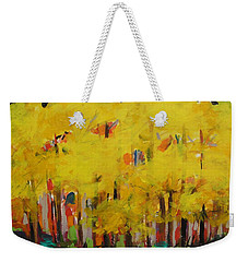 Yellow Refreshment Weekender Tote Bag