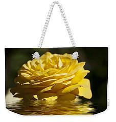 Yellow Rose Flood Weekender Tote Bag