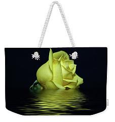 Yellow Rose II Weekender Tote Bag by Sandy Keeton