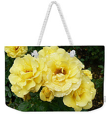 Yellow Rose Of Pa Weekender Tote Bag by Michael Porchik