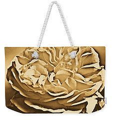 Yellow Rose Of Texas Floral Decor Square Format Rustic Digital Art Weekender Tote Bag