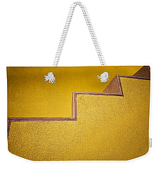 Yellow Steps Weekender Tote Bag by Melinda Ledsome