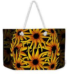 Yellow Sunflower Seed Weekender Tote Bag