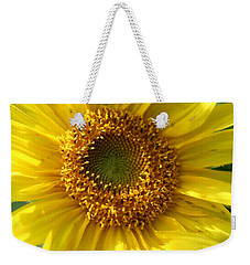 Weekender Tote Bag featuring the photograph Yellow Sunshine by Neal Eslinger