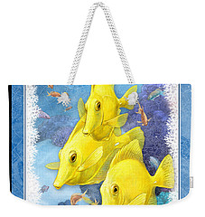 Yellow Tang Weekender Tote Bag