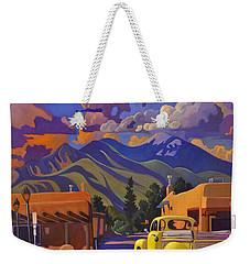 Yellow Truck Weekender Tote Bag by Art James West