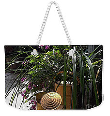 Yellow Watering Cans Weekender Tote Bag by Yvonne Wright
