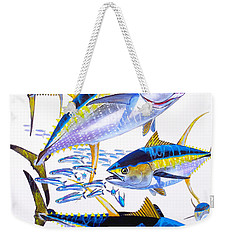Yellowfin Run Weekender Tote Bag by Carey Chen