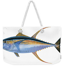 Yellowfin Tuna Weekender Tote Bag by Carey Chen