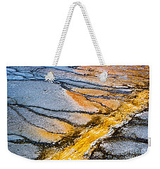 Yellowstone Abstract Weekender Tote Bag