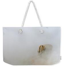 Yellowstone Bison Weekender Tote Bag