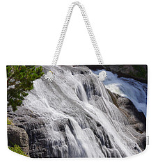 Yellowstone Gibbon Falls Weekender Tote Bag