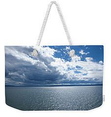 Yellowstone Lake Weekender Tote Bag