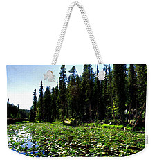 Yellowstone Lily Pads  Weekender Tote Bag