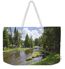 Yellowstone River Weekender Tote Bag