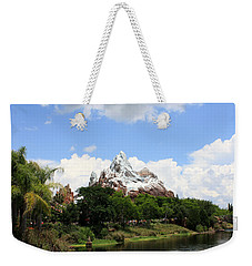 Weekender Tote Bag featuring the photograph Yeti Country by David Nicholls