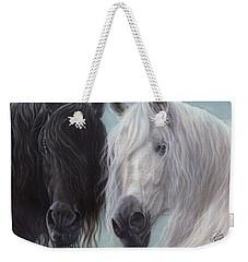 Yin-yang Horses  Weekender Tote Bag