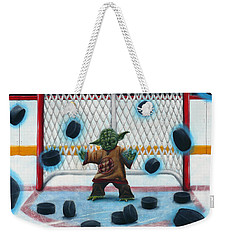 Yoda Saves Everything Weekender Tote Bag by Marlon Huynh