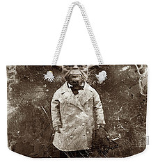 Yoda Star Wars Antique Photo Weekender Tote Bag