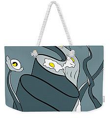 Yoked Weekender Tote Bag