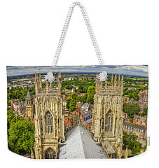 York From York Minster Tower Weekender Tote Bag
