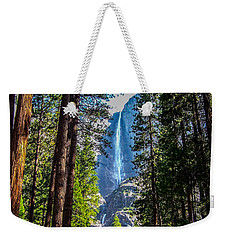 Weekender Tote Bag featuring the photograph Yosemite Falls by Dany Lison