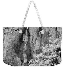 Weekender Tote Bag featuring the photograph Yosemite Falls by Mark Greenberg