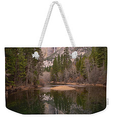Yosemite Falls Reflection Weekender Tote Bag