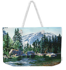 Yosemite Mirror Lake Weekender Tote Bag