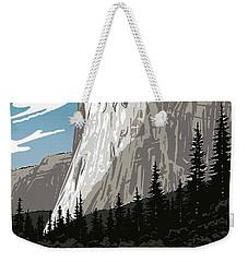 Yosemite National Park Vintage Poster 2 Weekender Tote Bag by Eric Glaser