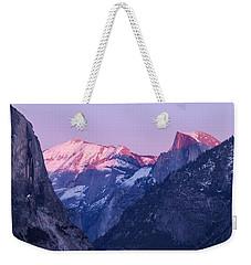Yosemite Valley Panorama Weekender Tote Bag