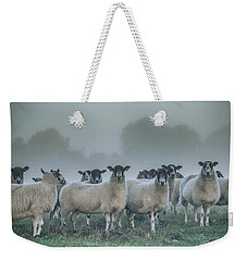 You And Ewes Army? Weekender Tote Bag by Chris Fletcher