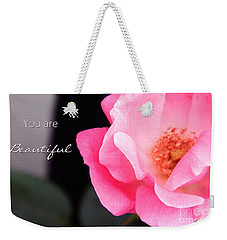 You Are Beautiful Weekender Tote Bag