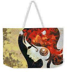 You Are The Only 1 Weekender Tote Bag by Angelina Vick