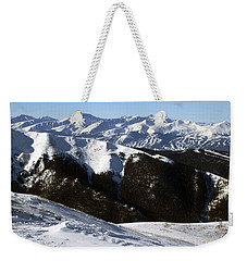 You Can See Forever Weekender Tote Bag by Fiona Kennard