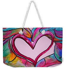 You Hold My Heart In Your Hands Weekender Tote Bag