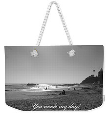 You Made My Day Weekender Tote Bag by Connie Fox