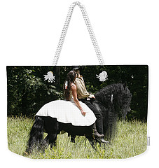 Weekender Tote Bag featuring the photograph You May Kiss The Bride by Carol Lynn Coronios