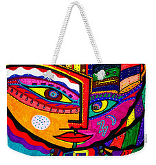 You Move Me - Face - Abstract Weekender Tote Bag