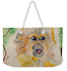 You Silly Monkey Weekender Tote Bag