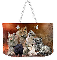 Young And Wild Weekender Tote Bag