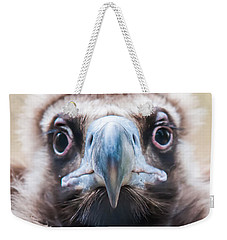 Young Baby Vulture Raptor Bird Weekender Tote Bag