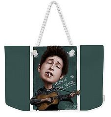 Young Bob Dylan Weekender Tote Bag