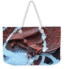 Weekender Tote Bag featuring the photograph Young Love Part One by Sir Josef - Social Critic - ART